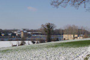Moulin de la Bavouze hiver 2007