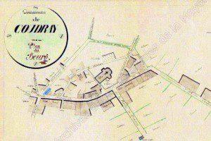 Monographie communale. Plan réalisé par A.Dauguet